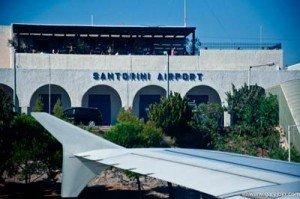 santorini airport departures
