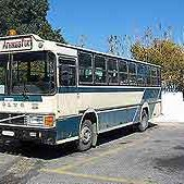 santorini airport bus