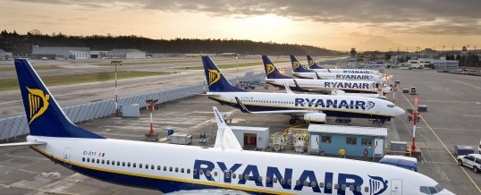 Ryanair announces new flights from Manchester to Rhodes & Chania